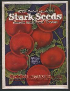 1922 Stark Seeds Catalog